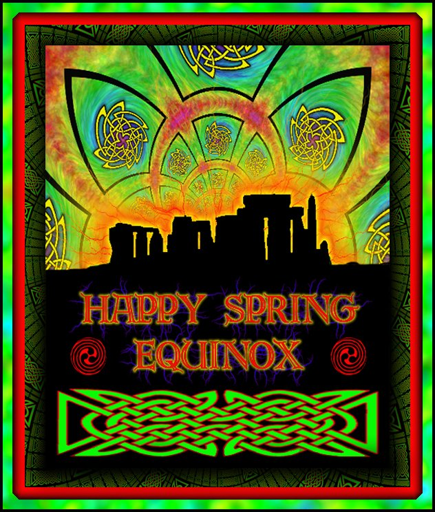 spring equinox 2007 poster by joe public